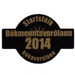 Bóksalaverðlaunin 2014