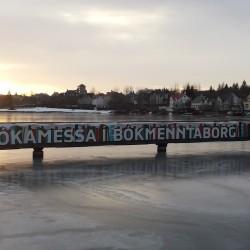 Bókamessa í Ráðhúsi Reykjavíkur um helgina